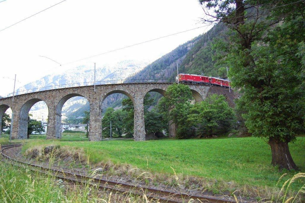 Viaggio con il Bernina Express