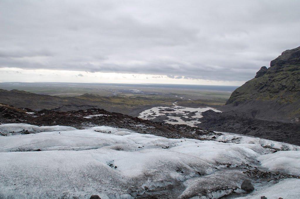 trekking nel ghiacciaio