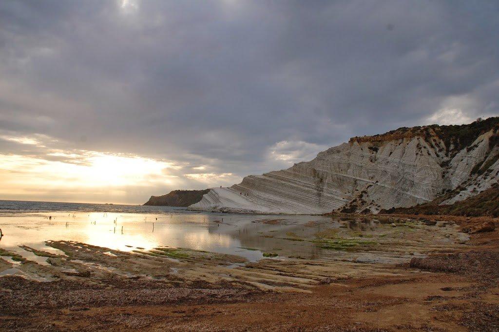 Sicilia: scala dei turchi - In viaggio con Fabila