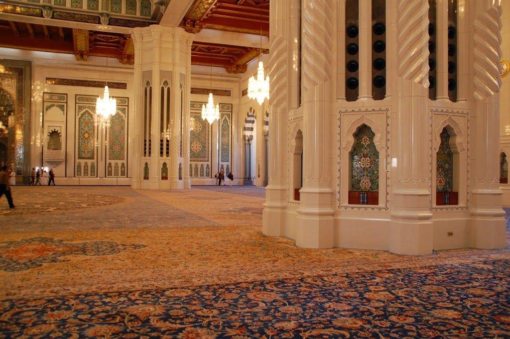 interno moschea di Muscat