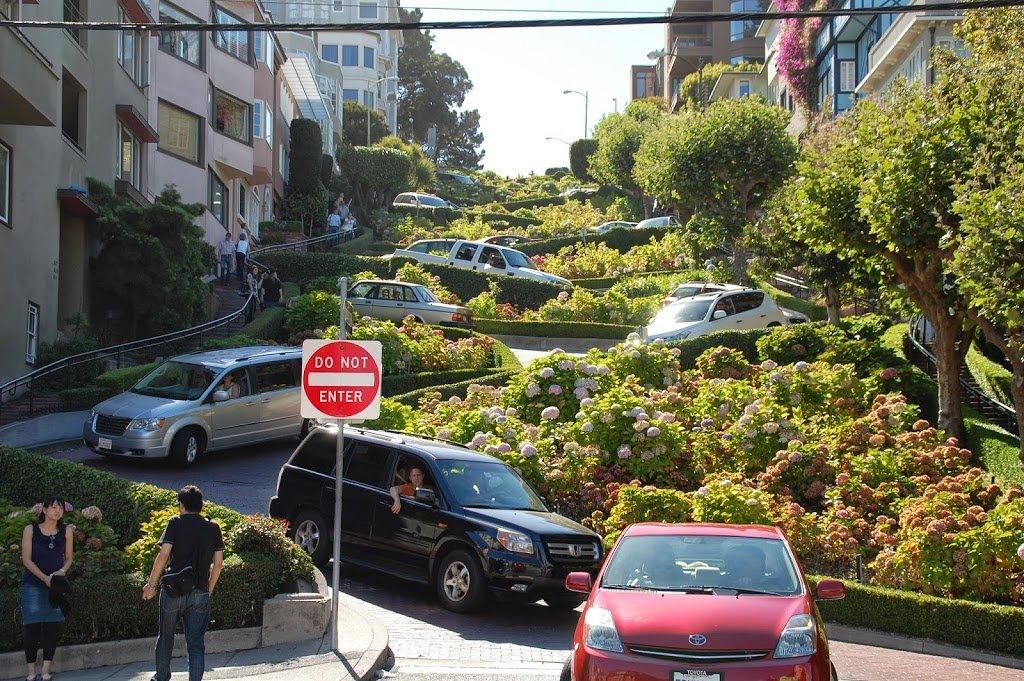 itinerario a San Francisco