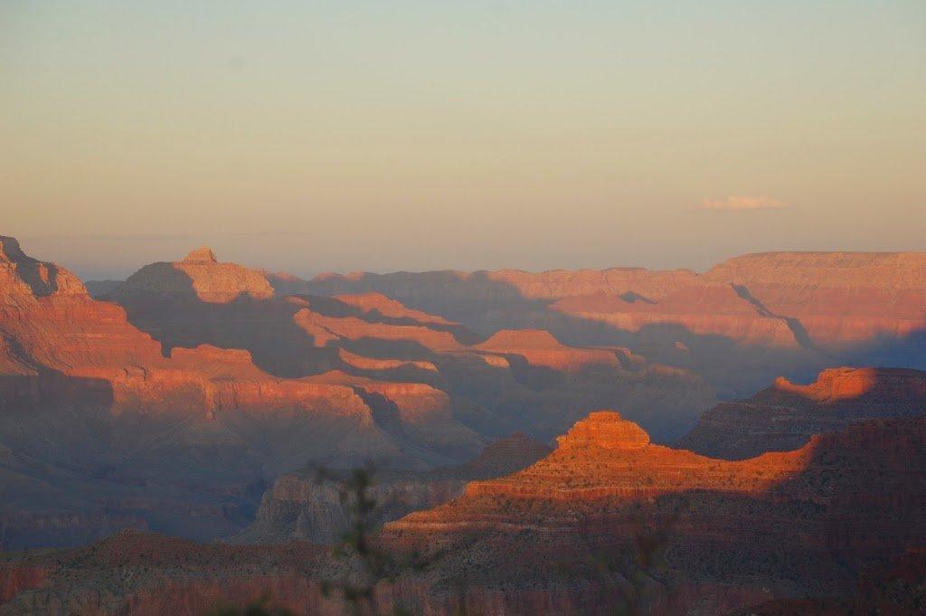 Tramonto sul Grand Canyon