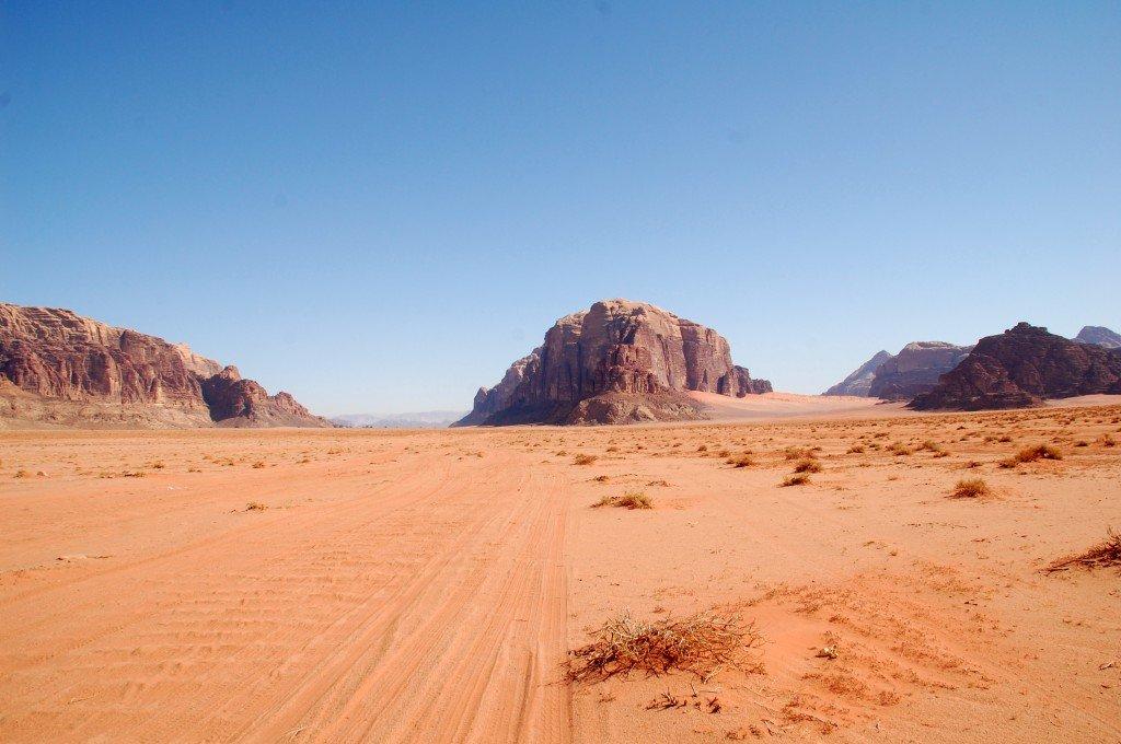 trekking sul wadi rum