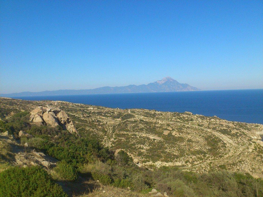 itinerario nella Calcidica
