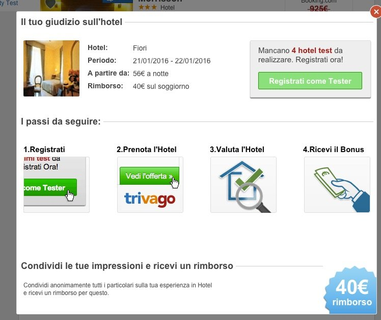 trivago quality test