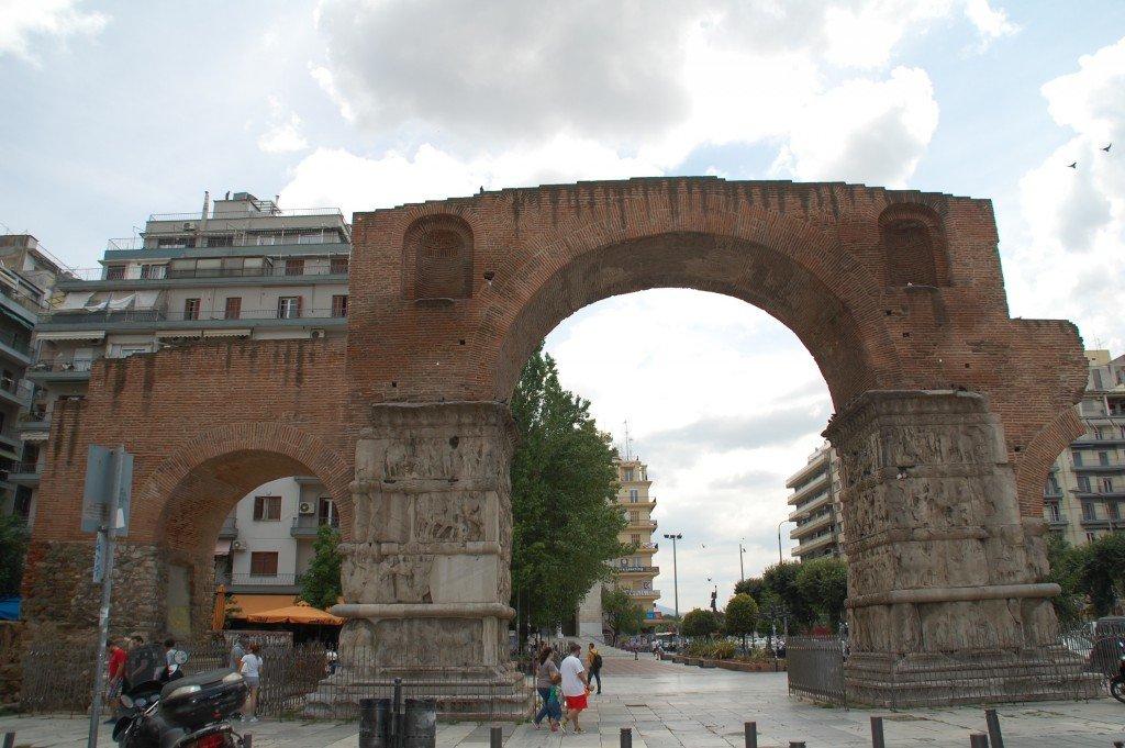 Itinerario a piedi a Salonicco
