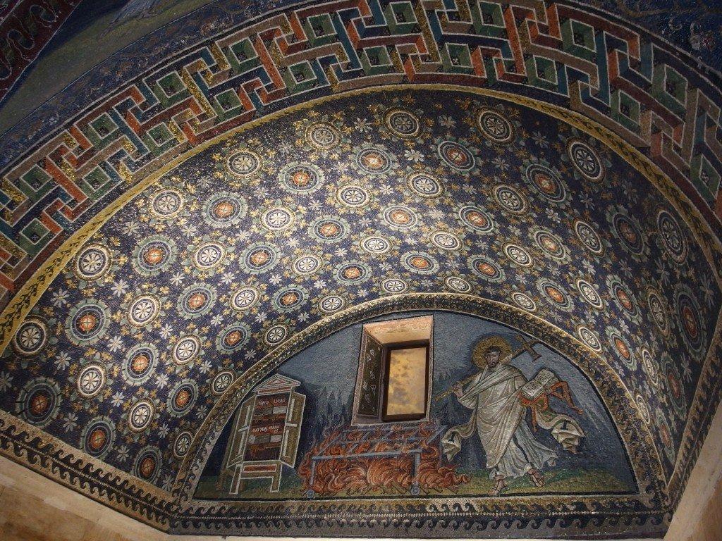 itinerario a piedi a Ravenna