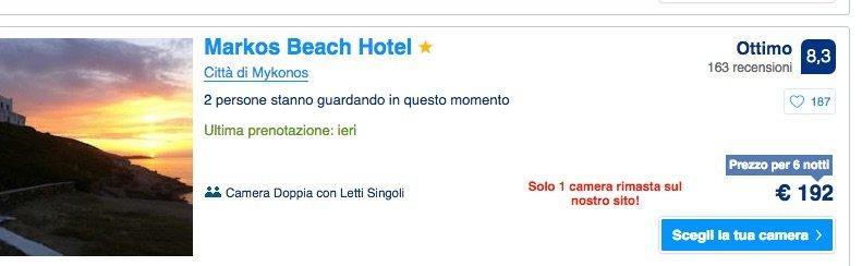 hotel low cost myconos