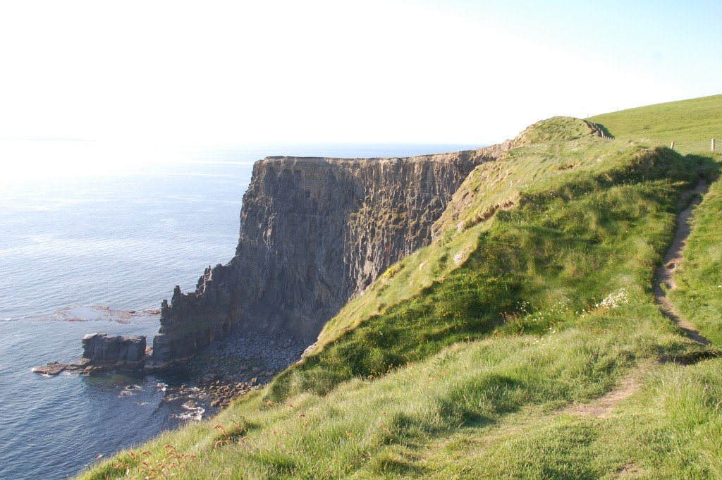 irlanda on the road: scogliere di moher