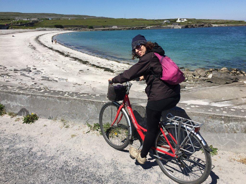 isole Aran in bicicletta