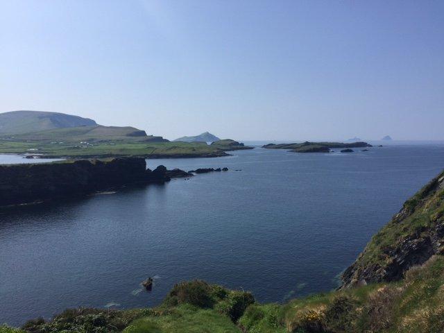 Trekking a Valentia Island