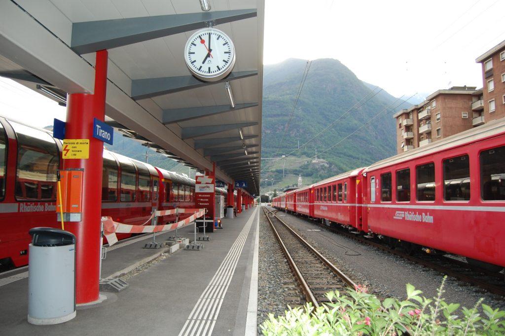 Trenino del Bernina: percorso e fermate