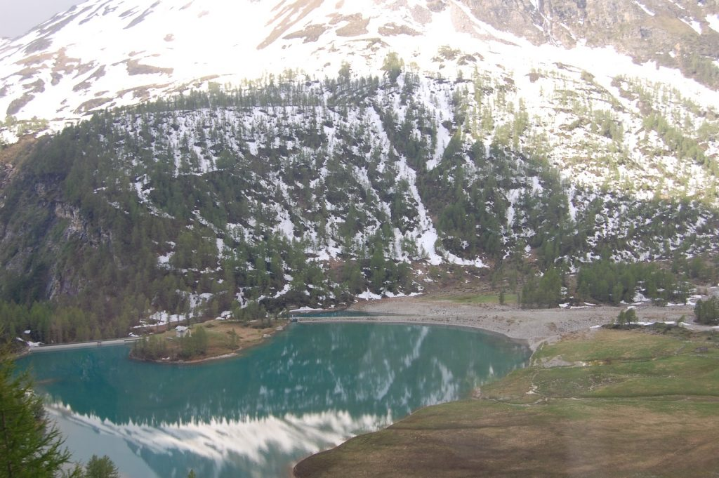 Trenino del Bernina percorso