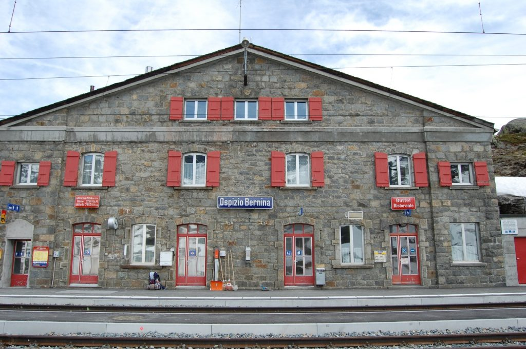 Trenino del Bernina: percorso