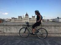 budapest in bicicletta