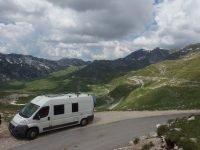 Montenegro in camper