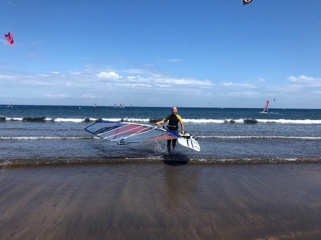 windsurf el medano