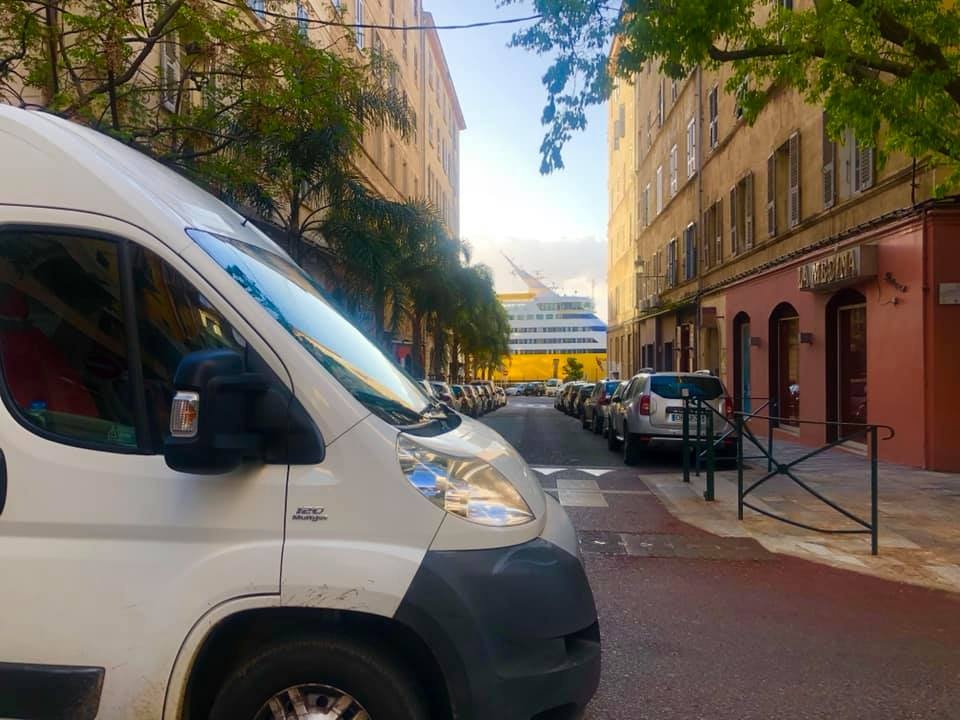 Corsicaferries camper