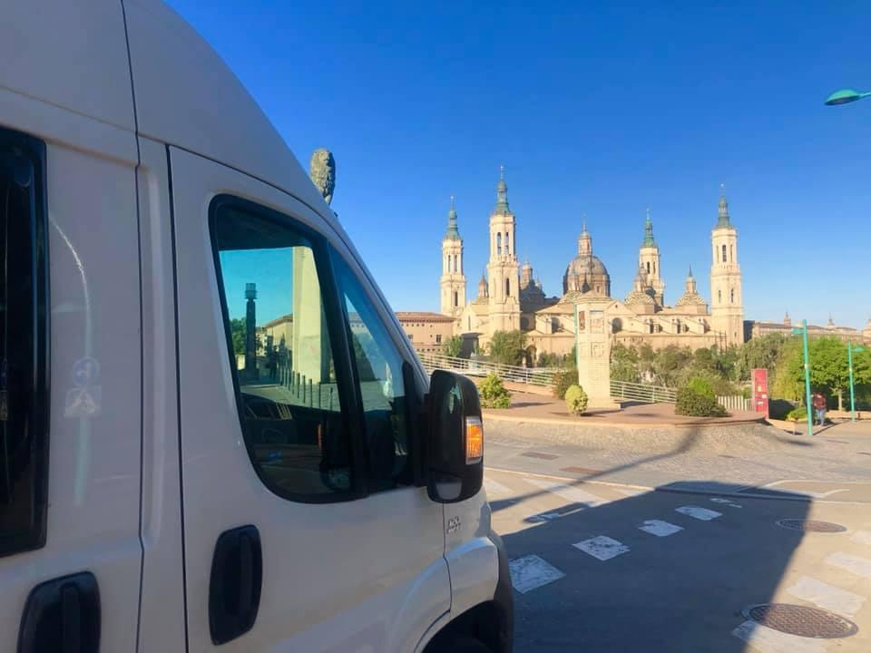 Zaragoza in camper