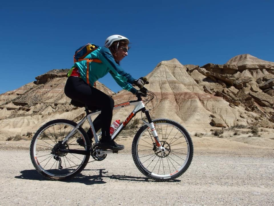 bardenas reales in bicicletta